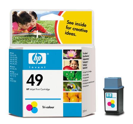 HP 51649A (No. 49) Color tintapatron
