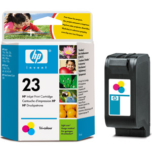 HP C1823D Color (No. 23) tintapatron