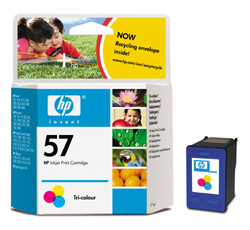 HP C6657AE Color (No. 57) tintapatron