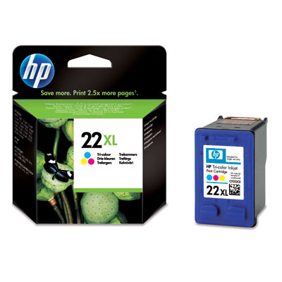 HP C9352CE (No. 22XL) tintapatron
