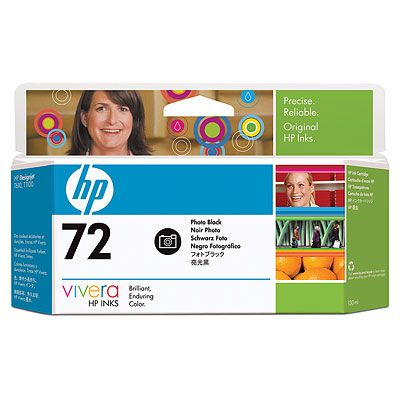 HP C9370A (No. 72) PhotoBk tintapatron