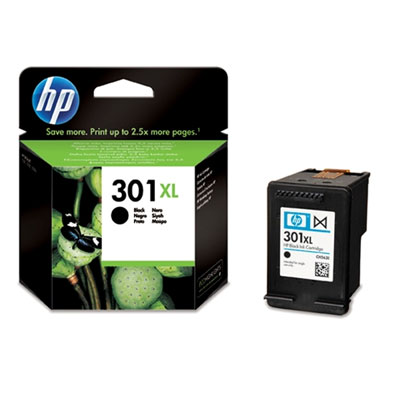 HP No. 301 XL fekete eredeti tintapatron CH563EE