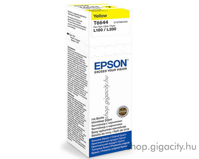 Epson Tinta yellow T66444A