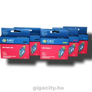 Epson Photo RX420/RX425 tintapatron csomag G&G GGT055P