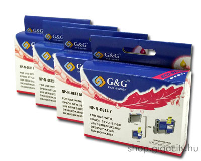 Epson D68/D88/DX3850/.. tintapatron csomag G&G GGT061
