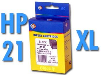 Nagykapacitású HP 21 (HP 9351) XL és HP 22 (HP 9352) XLkompatibilis tintapatron