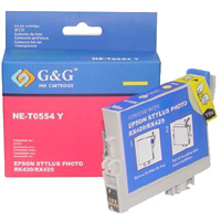 Epson Photo RX420/RX425 yellow tintapatron G&G GGT055Y