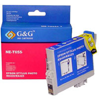 Epson Photo RX420/RX425 magenta tintapatron G&G GGT055M