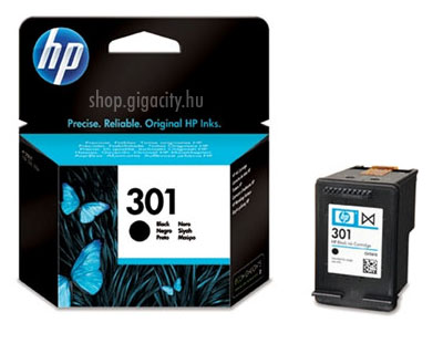 HP No. 301 fekete eredeti tintapatron CH561EE