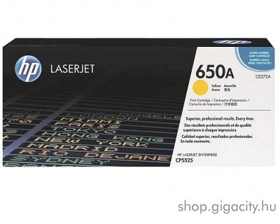 HP 650A Yellow toner (CE272A)