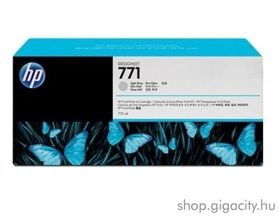 HP 771 eredeti light grey tintapatron CE044A