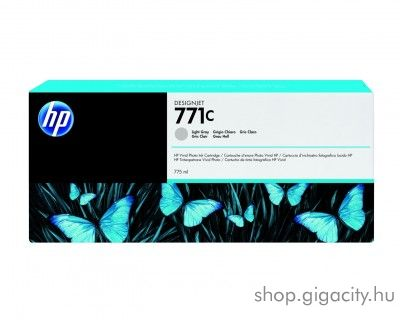 HP 771LGY eredeti light grey tintapatron B6Y14A