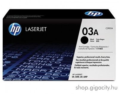 HP C3903A (No 03A) black toner