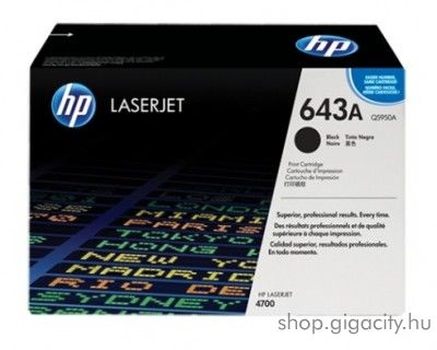 HP Q5950A (No 643A) black toner